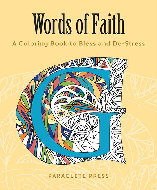Book Book: Words of Faith, Coloring