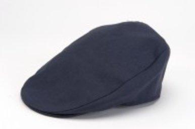 Hat: Linen Tailor Cap Navy