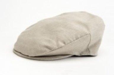 Hat: Linen Tailor Cap Natural