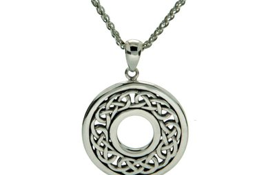 Pendant: Sterling Silver Eternity Knot