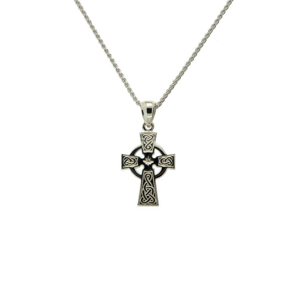 Pendant: Sterling Silver Celtic Cross Small