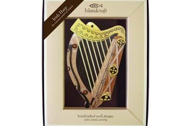 Plaque: The Irish Harp