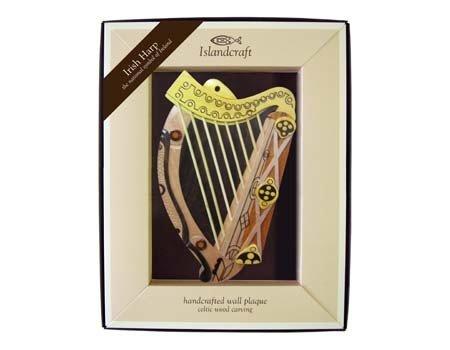 Clara Plaque: The Irish Harp