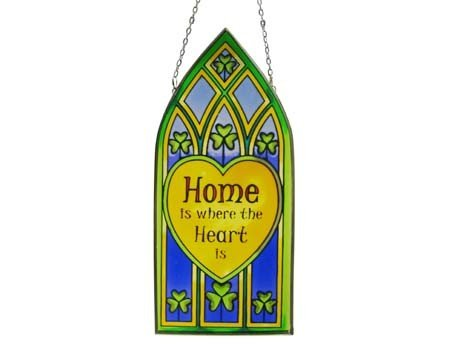 Clara Stained Glass: Home is Where The Heart