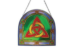 Stained Glass: Trinity Knot