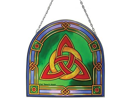 Clara Stained Glass: Trinity Knot