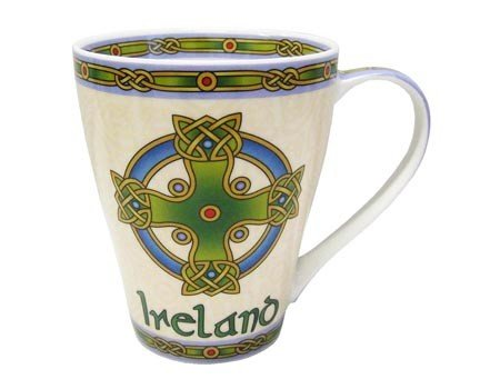 Clara Mug: Ireland Cross -Irish Weave