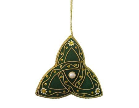 Clara Ornament: Fabric Trinity