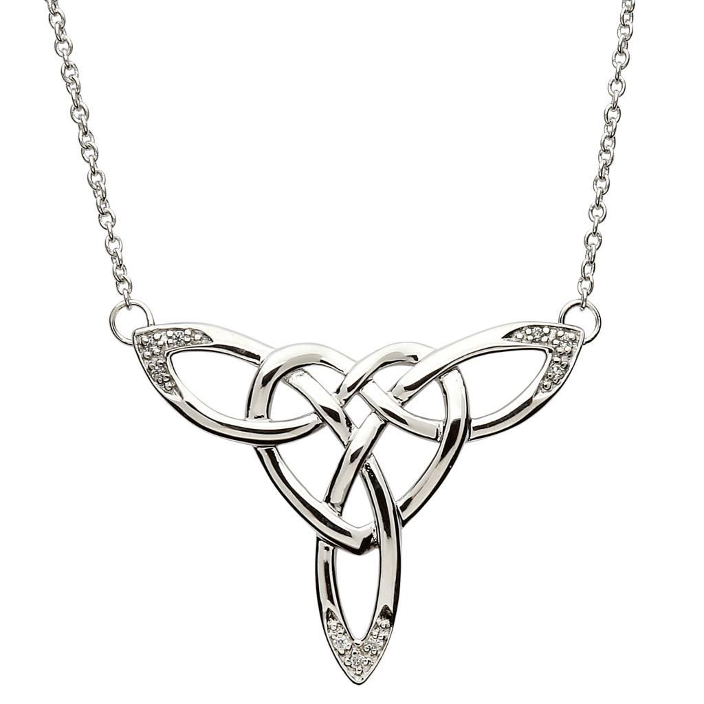 Shanore Pendant: SS Celtic Heart