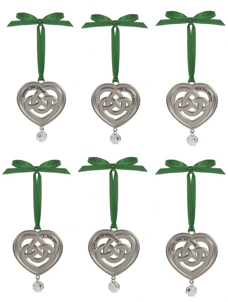 Ornament: Celtic Heart