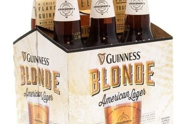 Beer: Guinness Blonde 6 Pack