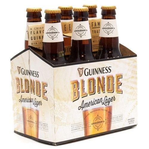 Guinness Beer: Guinness Blonde 6 Pack