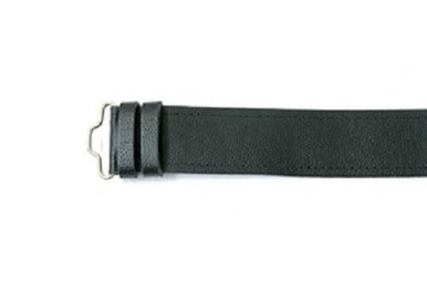 Belt: Grained Unlined Velcro Kilt