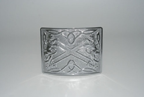 Glen Esk Buckle: Highland Saltire