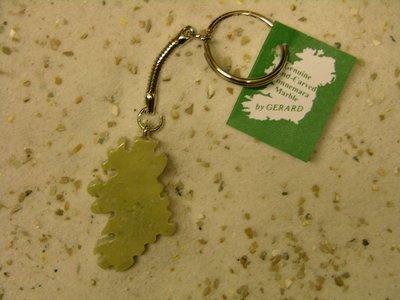 Keychain: Connemara Marble assorted