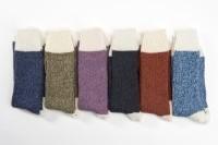 Connemara Socks Colors White Heel (L)