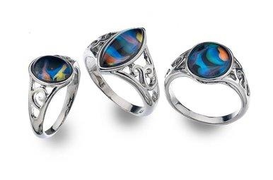 Ring: Mood Celt Cabachon