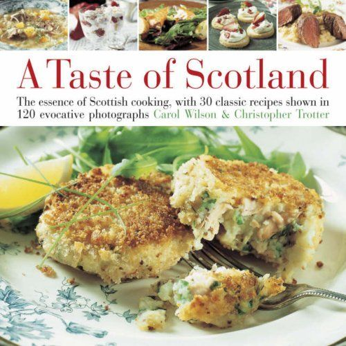 Book Book: A Taste of Scotland, Hardcover