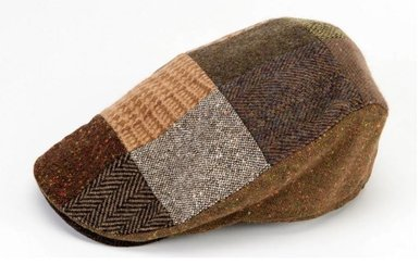 Hat: Touring Cap, Brown Tone Patch
