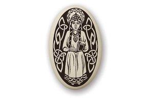 Necklace: Ceramic St. Margaret of Scotland
