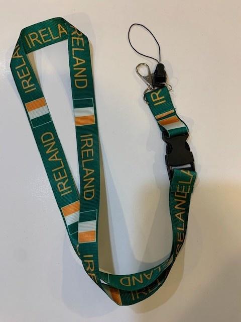 Lanyard: Ireland Flag