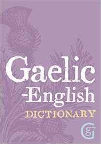 Book Book: Gaelic-English Dictionary