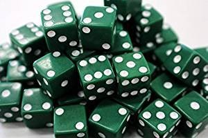 Dice: Lucky Irish Green, Standard