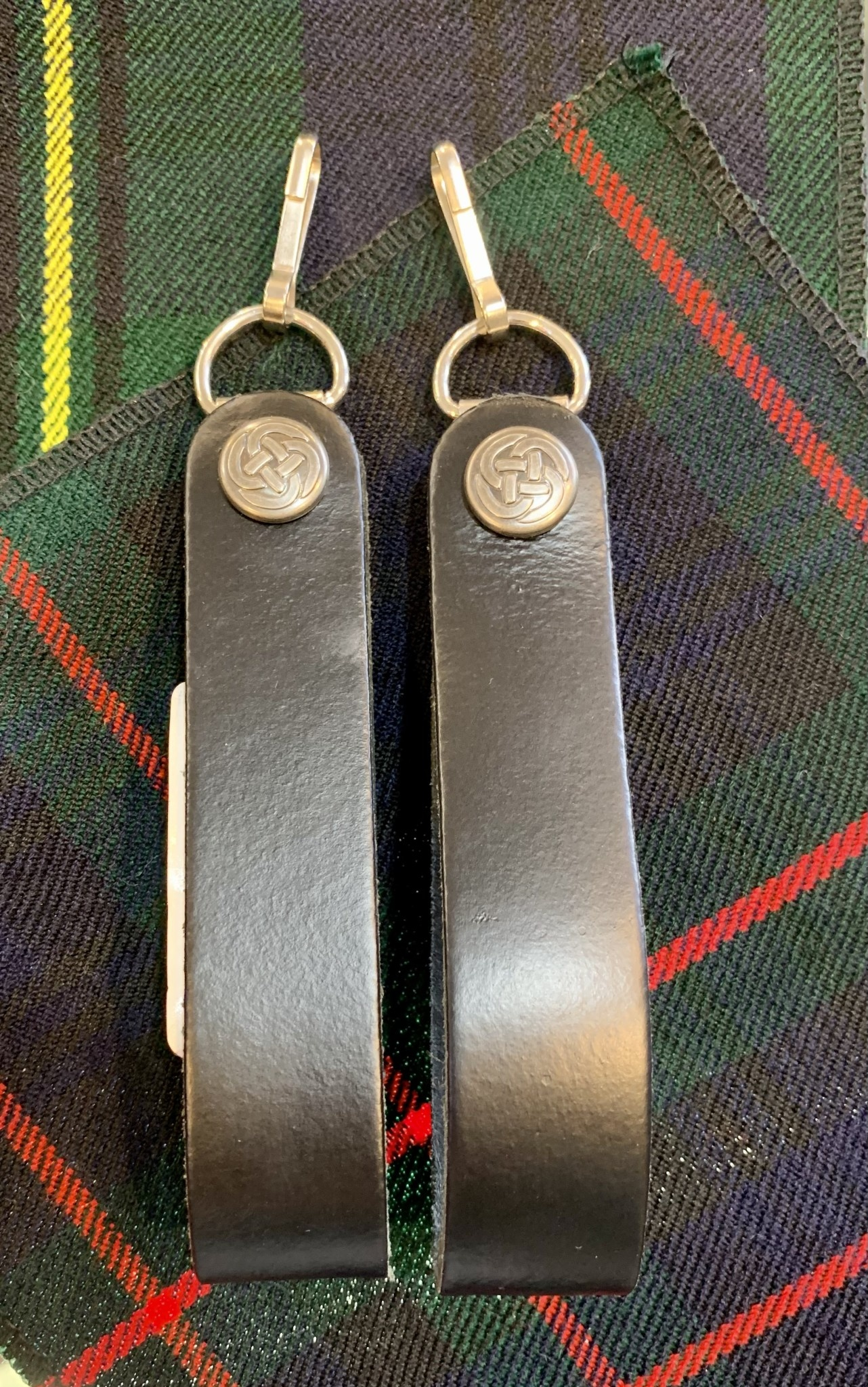 Sporran: Suspender (Plain Black)