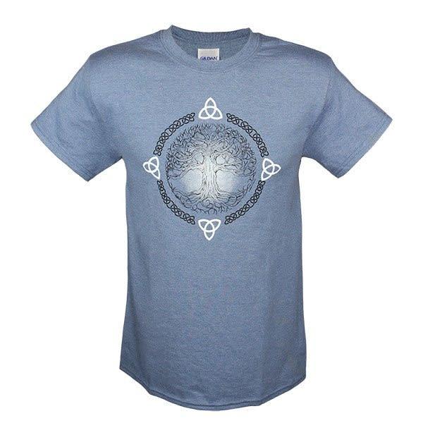 T Shirt: Mens Tree of Life