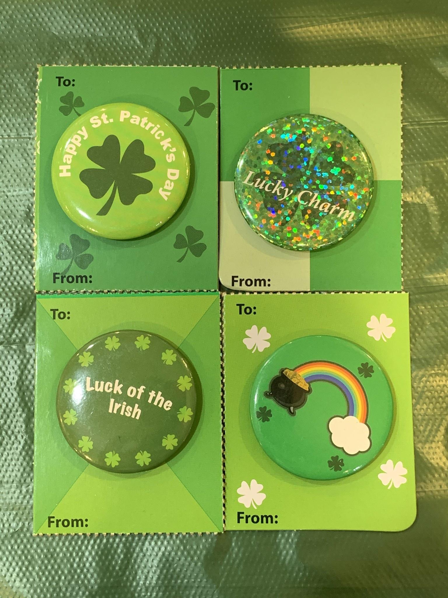 Button: St. Patricks Day
