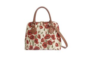 Purse: Tapestry Convertible Poppy