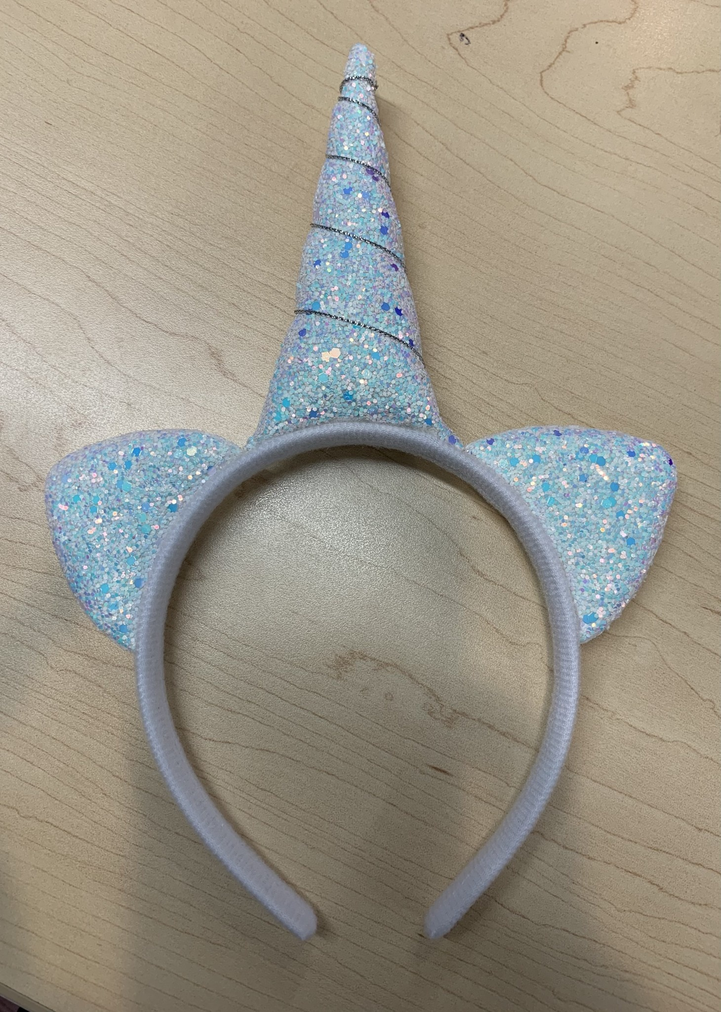 Headband: Squishy Glitter Unicorn
