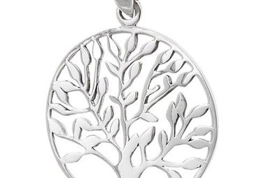 Pendant: SS Tree of Life (disk)