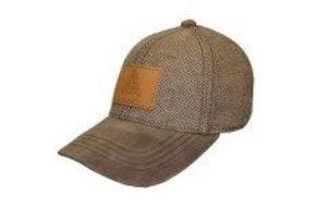 Hat: Ireland Tweed/Suede Baseball