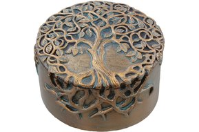 Trinket Box: Tree of Life, Resin