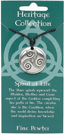 Pendant: Spiral of Life