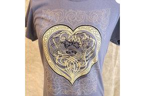 T Shirt: Women's Lovers Heart