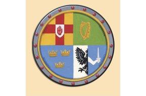 Coasters: 4 Pack Irish Provinces