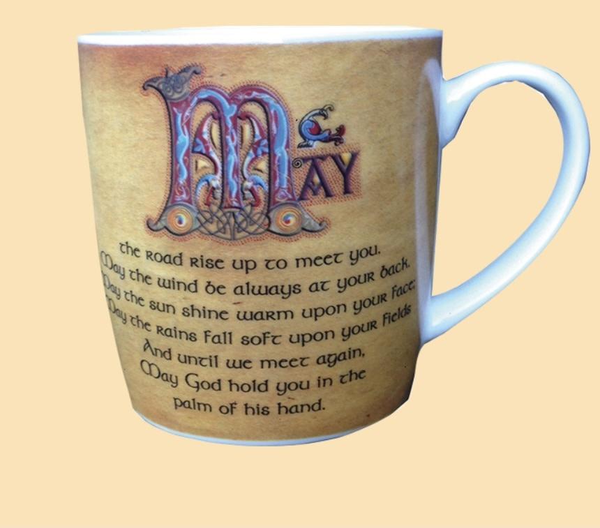 Mug: Road Irish Blessing