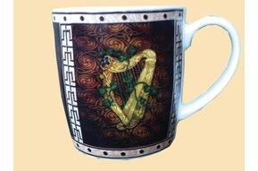 Mug: Gold Harp
