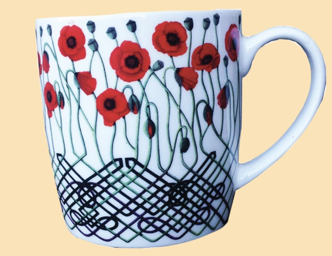 Mug: Poppies