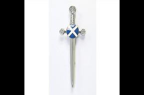 Kilt Pin: Saltire Sword
