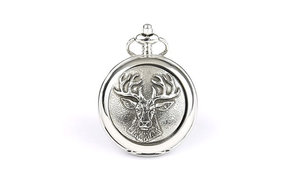 Pocket Watch: Celtic Stag