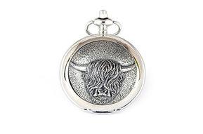 Pocket Watch: Highland Coo