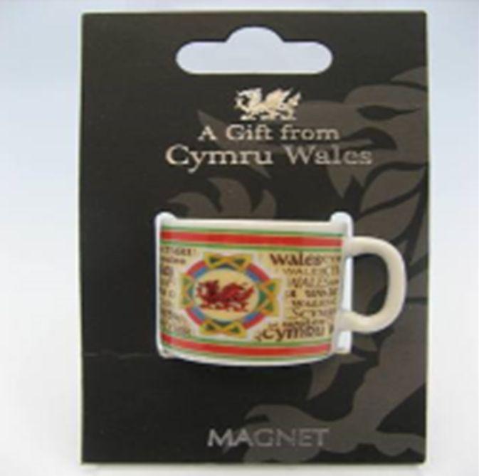 Magnet: Wales Mini Mug
