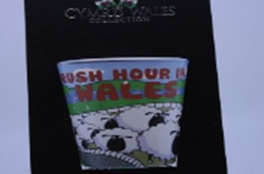 Shot Glass: Wales Rush Hour