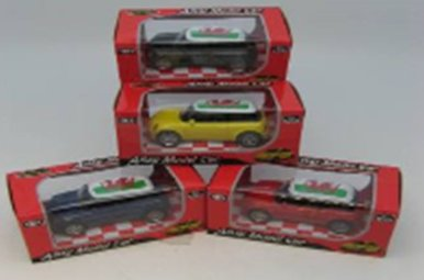 Toy: Welsh Mini Cooper, Die Cast