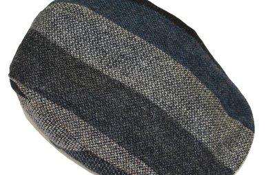 Hat: Touring Cap, Grey Stripe