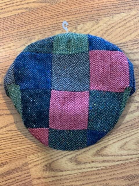 Fia Hat : Tweed Classic Patchwork