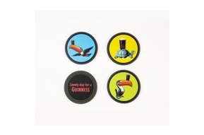 Coasters: Guinness Heritage, 4 pack